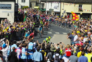 Leyburn welcomes the Tour de Yorkshire