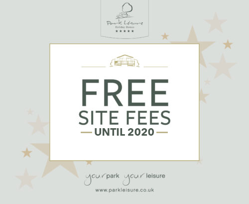 Free Site Fees until 2020*