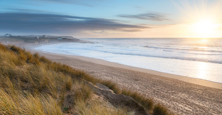 Explore the stunning beaches of Cornwall