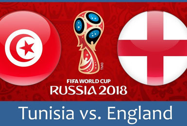 England v Tunisia World Cup 7.00pm