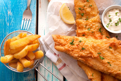 Fish Friday; 2x Fish and chips for £16, as well as fantastic sustainable fish specials on our board…celebrating the sea at on our doorstep.