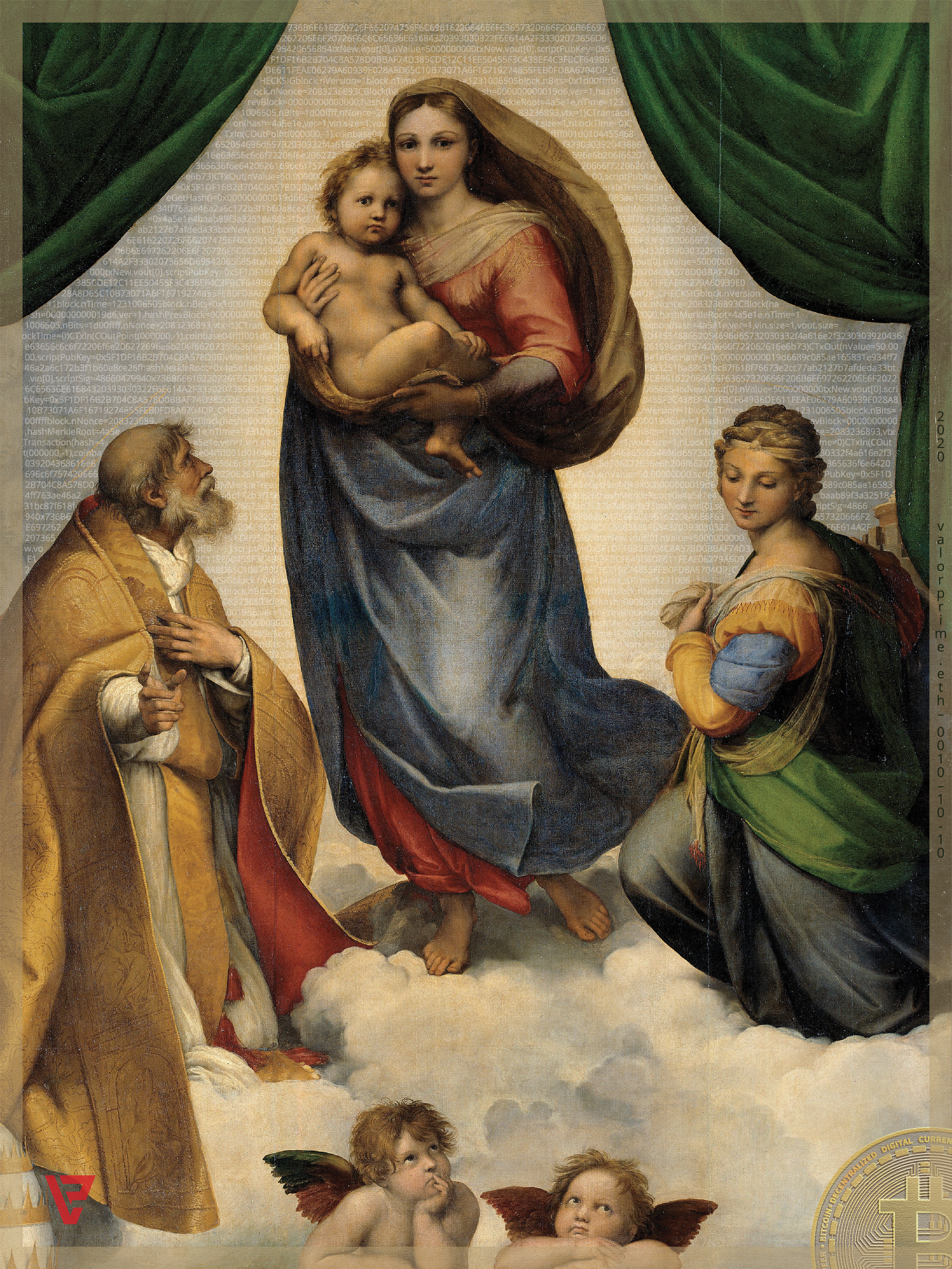 Raphael's Genesis Madonna