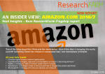 An Insider View: Amazon.com 2016/7