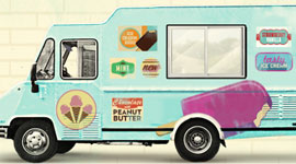 How Uber and Amazon are bringing back the ice cream van