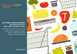 UK Online Grocery Market by Quarter 2010-2013