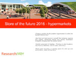 Store of the Future 2016: Hypermarkets