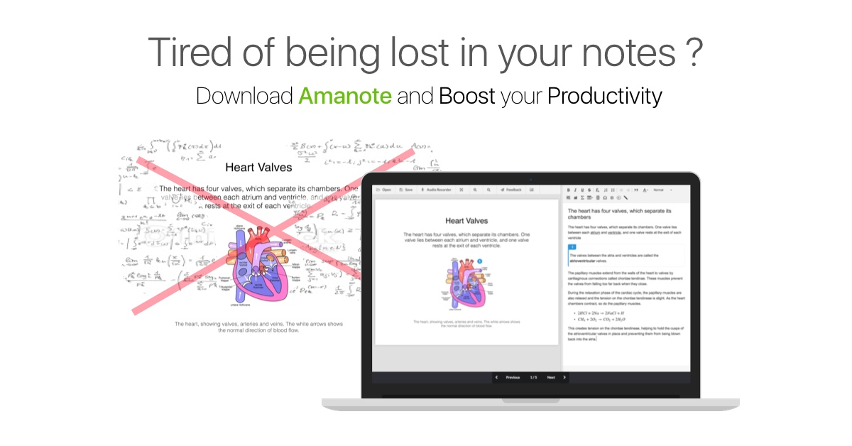 Amanote - Note-taking application