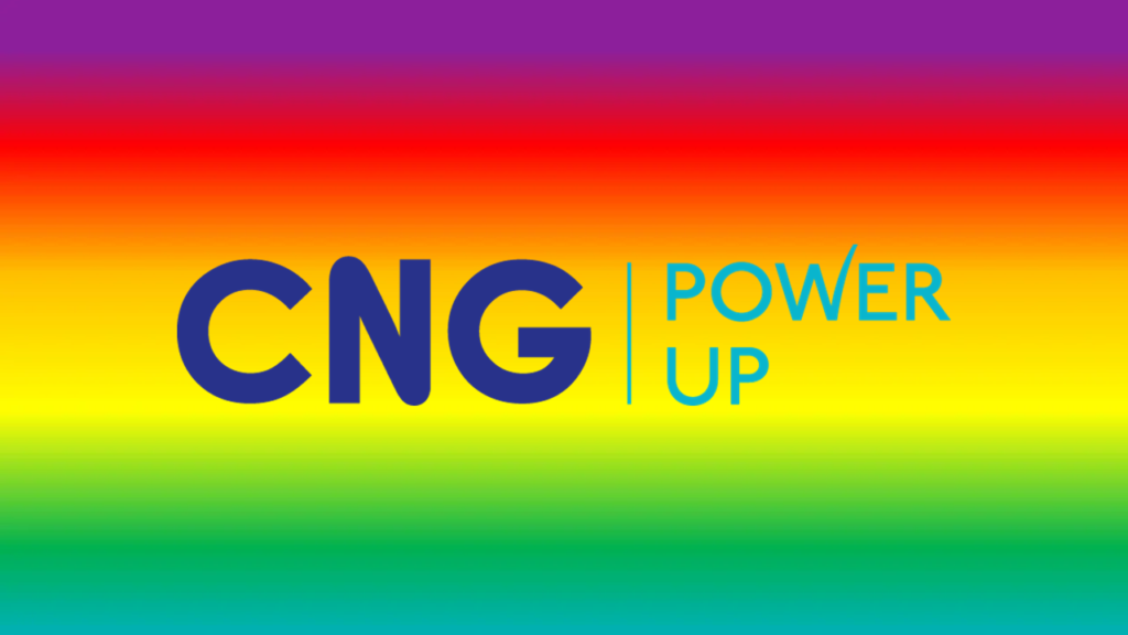 Cng Logo With Rainbow