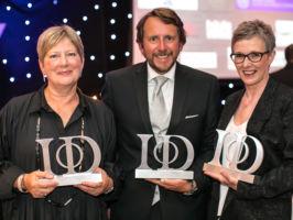 Jacqui shines at the IOD awards!