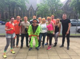 Team CNG 'climbs Everest' twice for Martin House