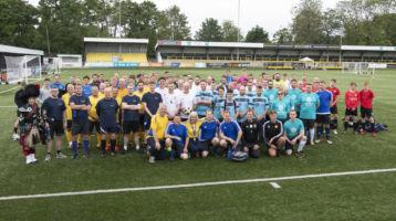 Dementia Forward scores £5K at the Ken Barnes Football Tournament