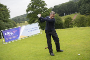 A hole (in one) lot closer to our £25K charity target