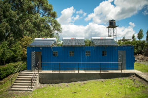 Completed Shower Block