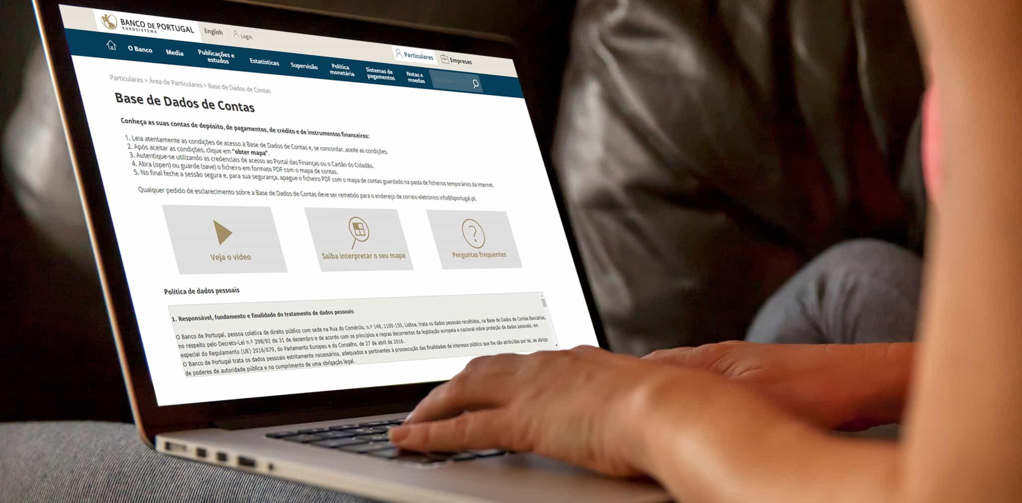 consulta de site Banco de Portugal_contas