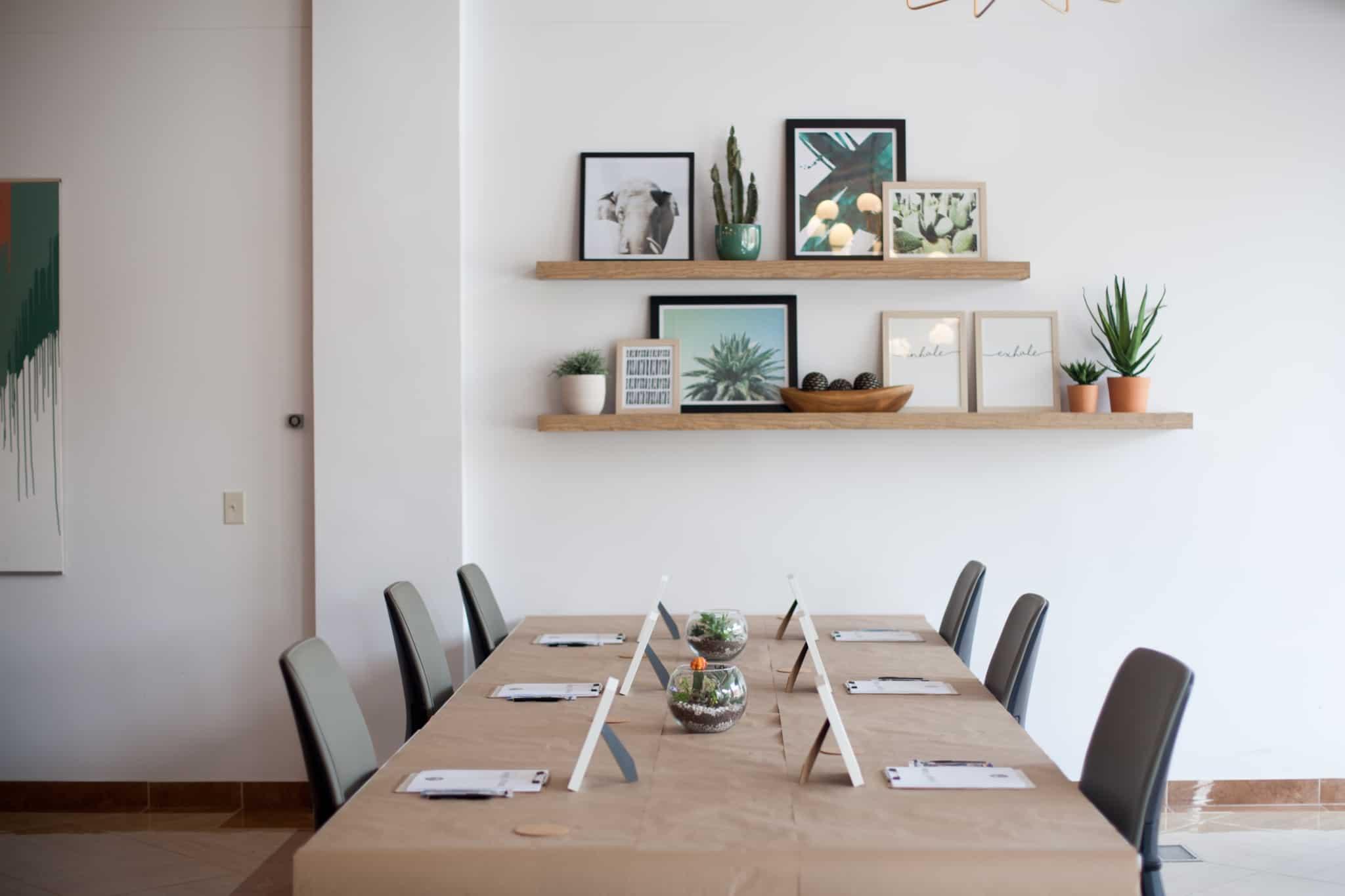 mesa de jantar que vai ser formulada para vender