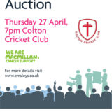 Charity Committee's auction success