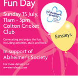 Emsleys' Charity Fun Day: Alzheimer's Society
