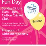 Emsleys' Charity Fun Day: Alzheimer's Society