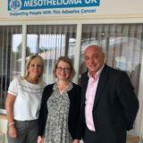 Emsleys supports cancer charity Mesothelioma UK