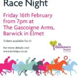 Emsleys' charity race night victory