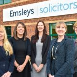 Emsleys Solicitors welcomes a raft of new starters as it celebrates excellence in client service