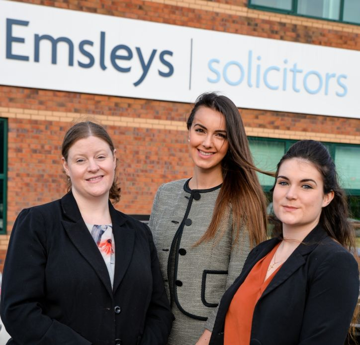 "Three new personal injury appointments at the ""go-to firm"""