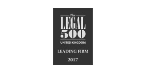 Legal 500 Leading Firm 2017