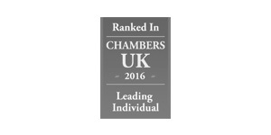 Ranked in Chambers UK 2016