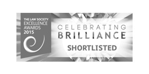 The Law Society Excellence Awards 2015 Shortlisted