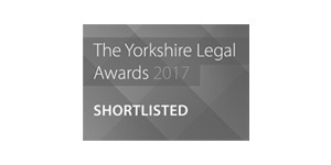 Yorkshire Legal Awards 2017 Shortlisted