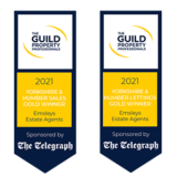 The Guild Awards 2021: Double GOLD win!