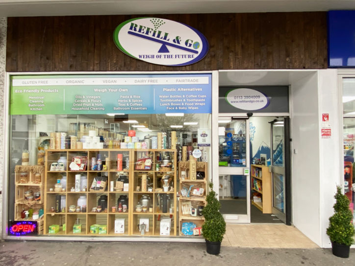 Refill & Go is located on Main Street in Garforth