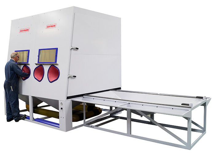 Guyson delivers on increased demand for large blast cabinets