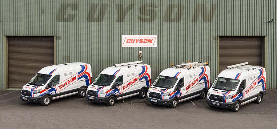 Guyson Service Team Vans