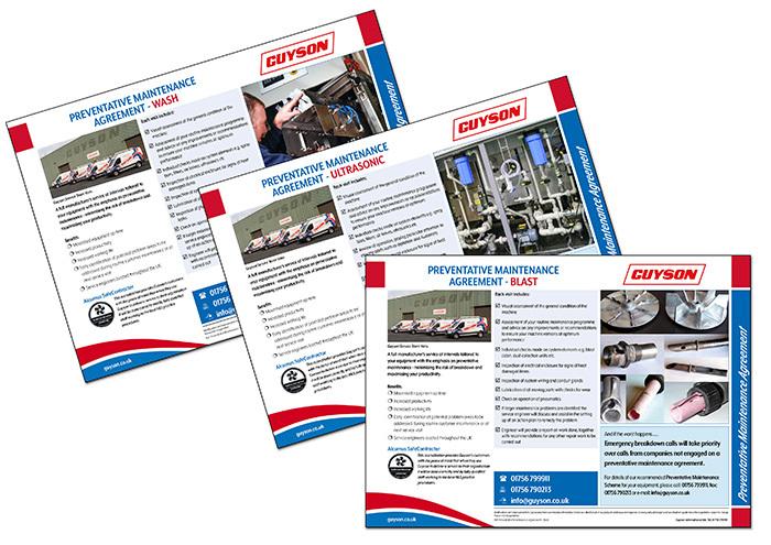 Guyson Maintenance Leaflets