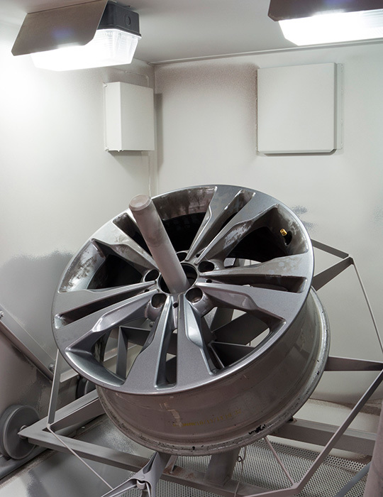 Alloy Wheel - Blast Reburbishment