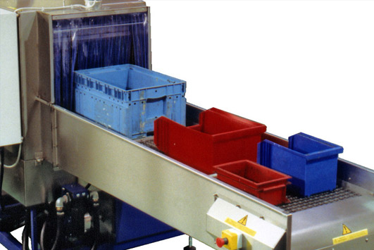 Cleaning Plastic Tote Bins