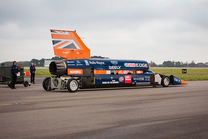 Bloodhound at Newquay