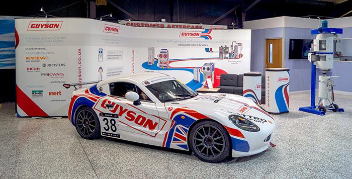 Guyson's Ginetta G40 club car