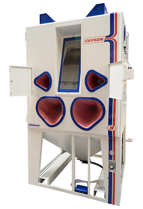Guyson Euroblast® 9SF blast cabinet – perfect for tall components