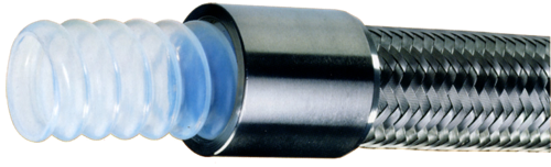 Kaptech PTFE 3000 Convoluted Industrial Hose