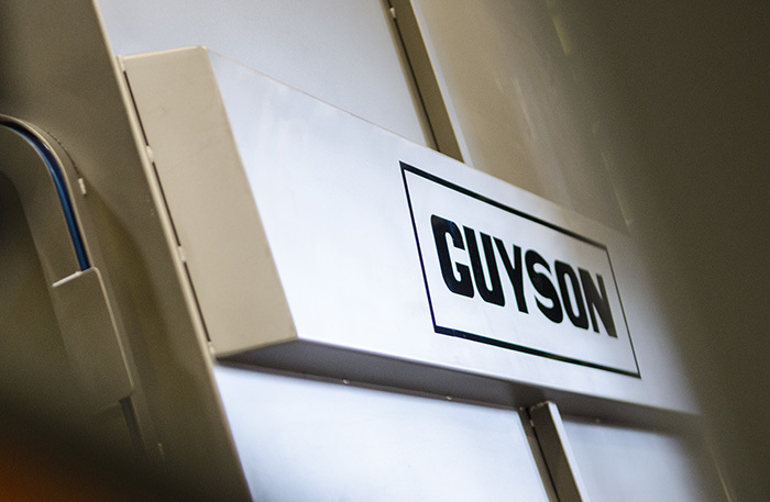 Guyson powder recovery system