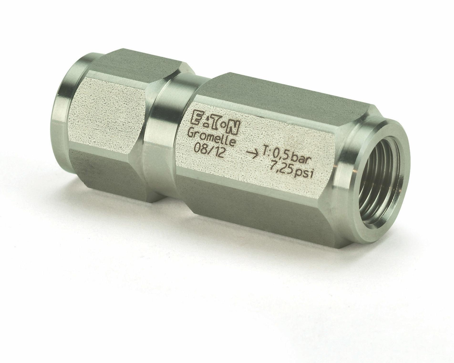 Gromelle R4000 series non-return valves (in-line check valves)