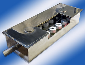 Guyson KST Ultrasonic Block Transducer - cut away