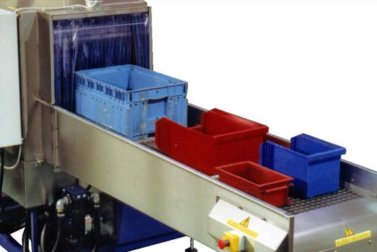 Nettoyage des bacs de manutention et bacs de stockage