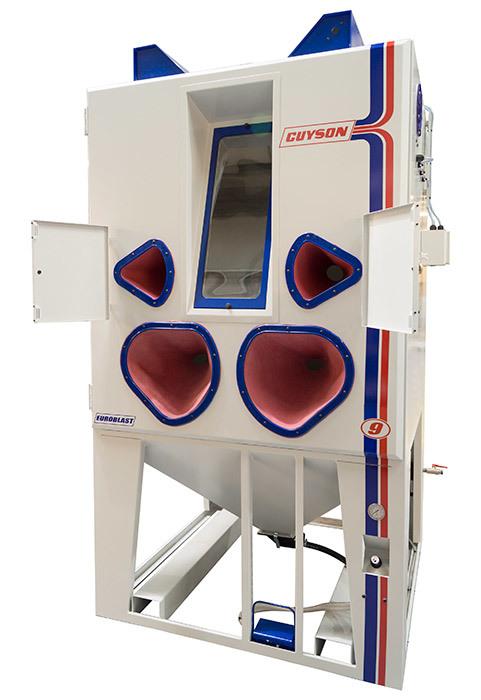 La cabine de sablage Euroblast 9SF