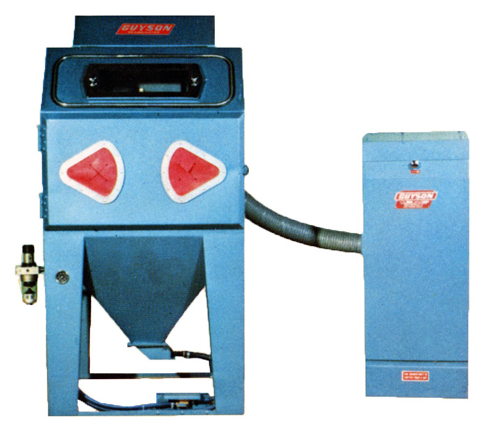 Guyson Super 4 with 40 Dust Collector