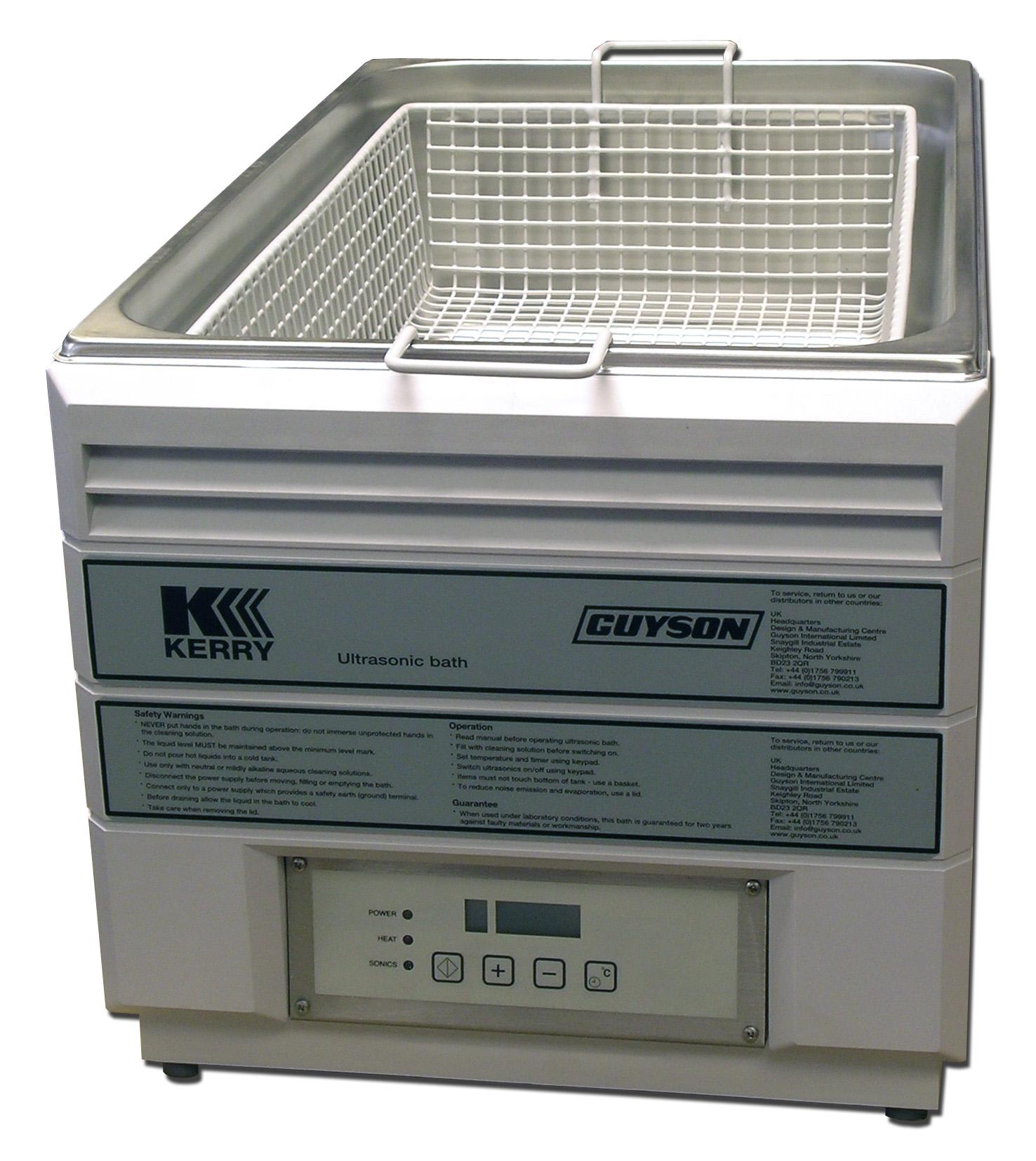Les bains de nettoyage à ultrasons MKC 22