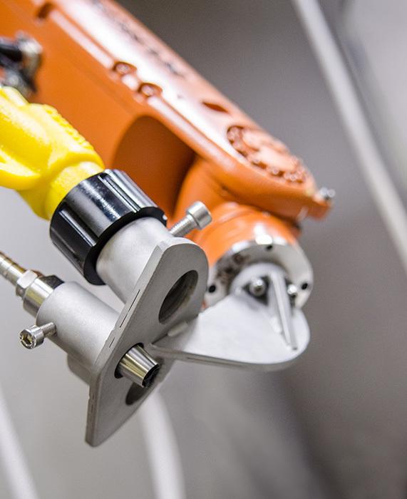 Pistolet de sablage robotisé Guyson