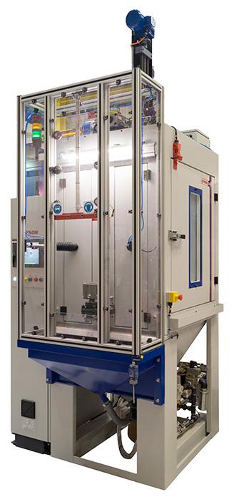 Cabine de sablage automatisée Guyson Multiblast RXS400